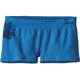 Patagonia W's Active Mesh Boy Shorts Dropdot Graphic: Radar Blue